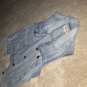 Denim vest from madewell